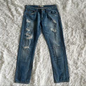 Zara Denim Women's Boyfriend Jeans size 4